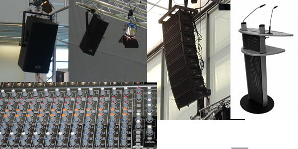 PA-sound equipment